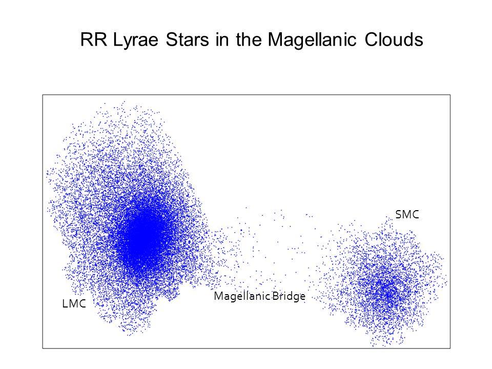 LMC SMC Magellanic Bridge RR Lyrae Stars in the Magellanic Clouds