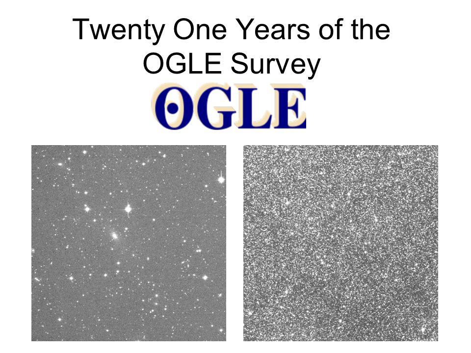 Twenty One Years of the OGLE Survey