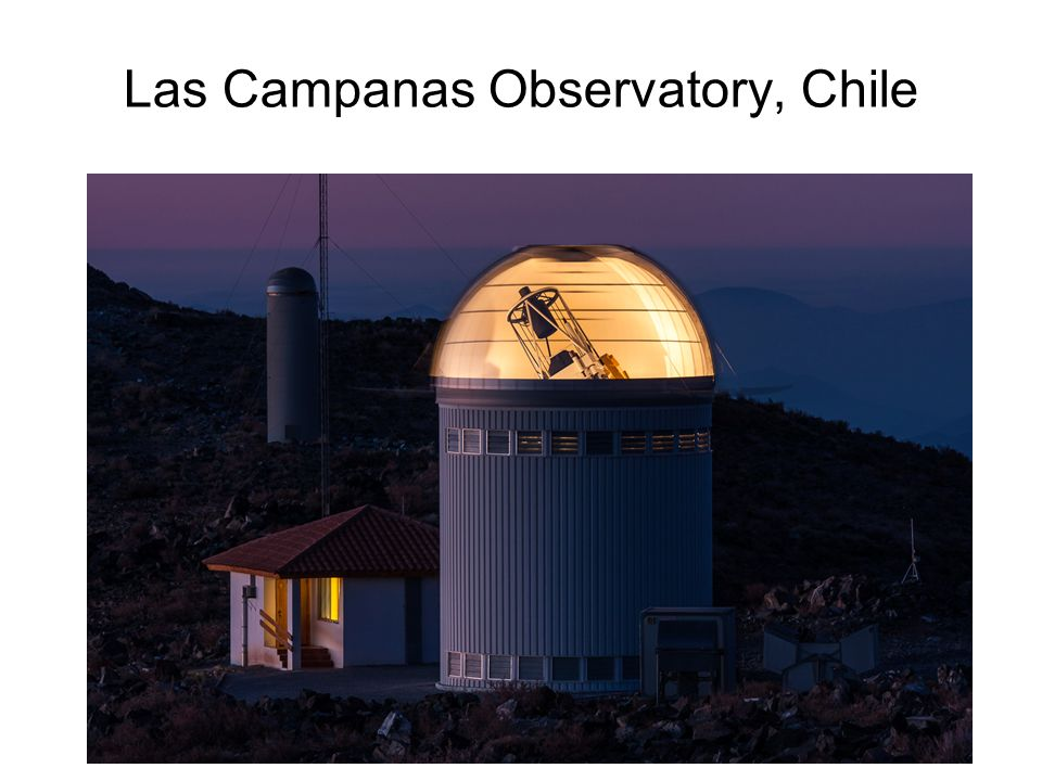 Las Campanas Observatory, Chile