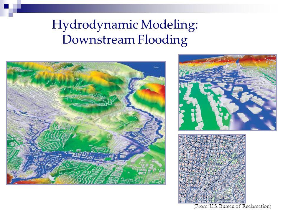 Hydrodynamic Modeling: Downstream Flooding Sacramento, California, USA (From: U.S. Bureau of Reclamation)