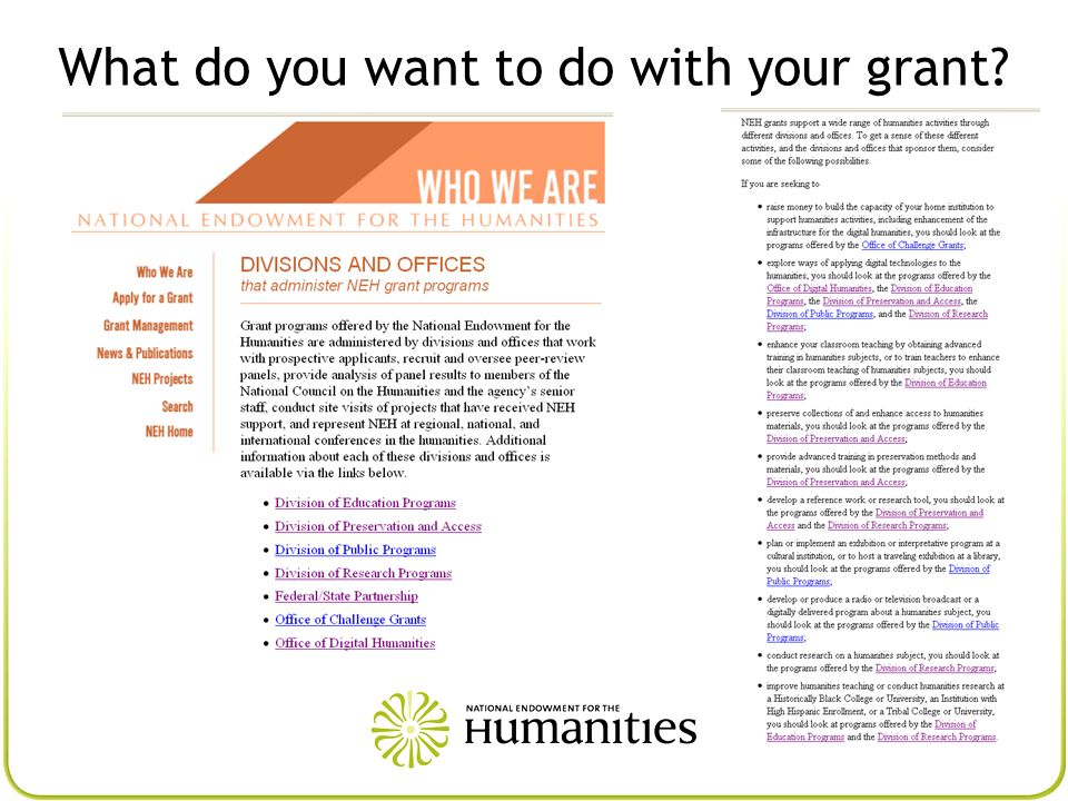 Grants for Institutions U.S.