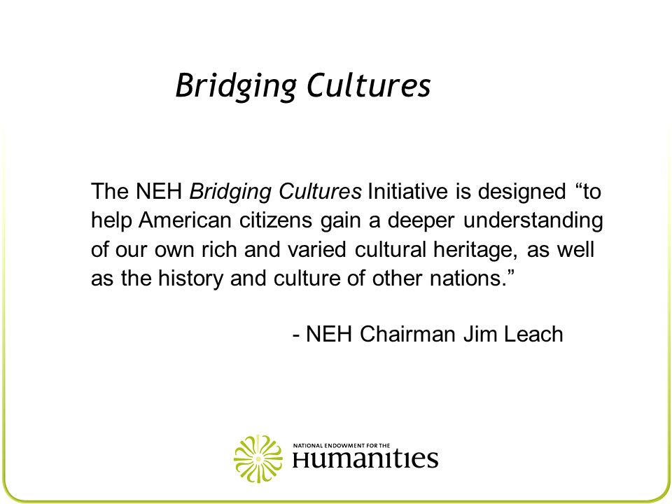 How do I apply? Step One: Visit the NEH website and READ THE GUIDELINES