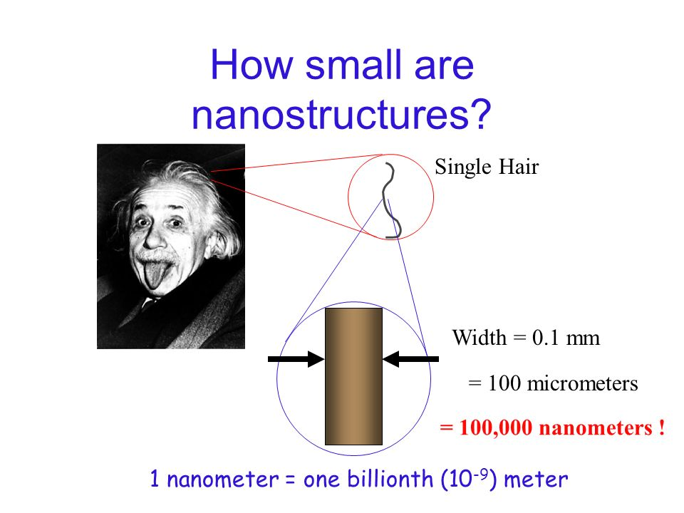 Nanotechnology Nanotechnology is the understanding and control of matter at dimensions of roughly 1 to 100 nanometers, where unique phenomena enable n