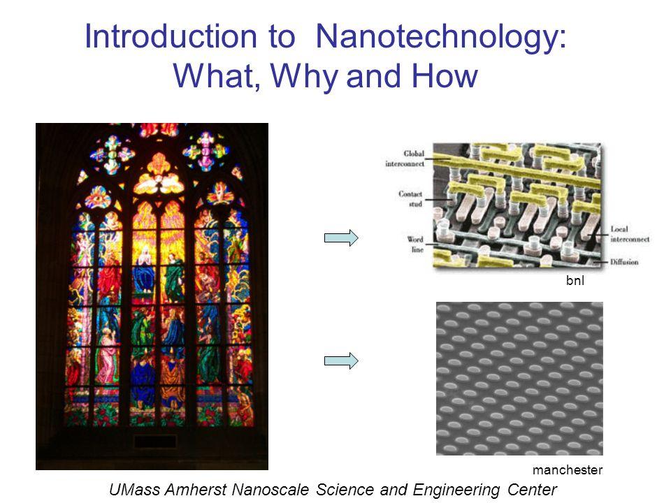 Nanotechnology: Past, Present, and Future March 29, 2008 STEM ED UMass