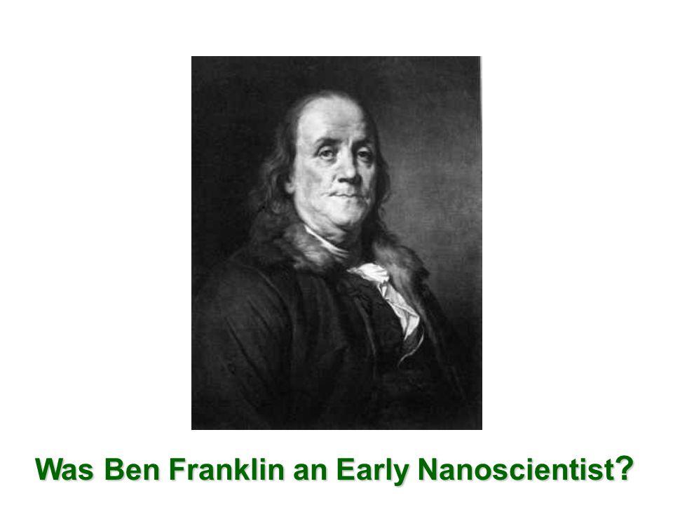 Excerpt from Letter of Benjamin Franklin to William Brownrigg (Nov.