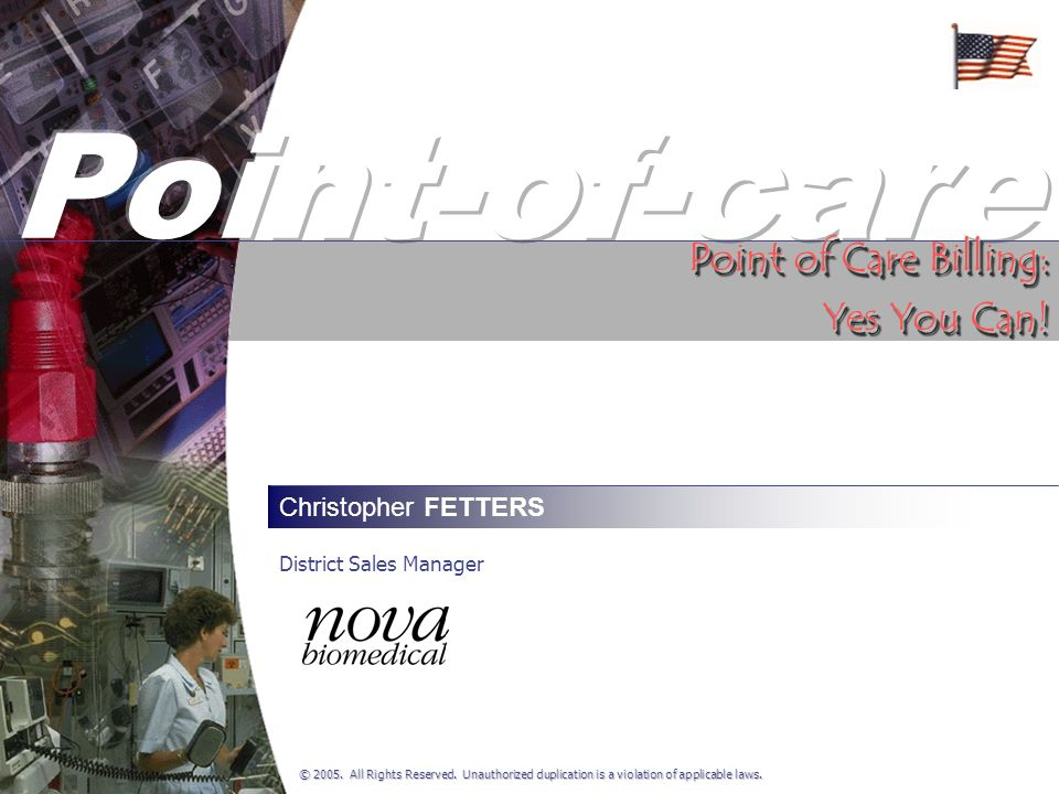 Point of Care Optimization Alabama Point of Care Coordinators (27 Apr 2006) CLIA 88 Certifies testing Agents of the laboratory Human specimens Based on complexity, not setting