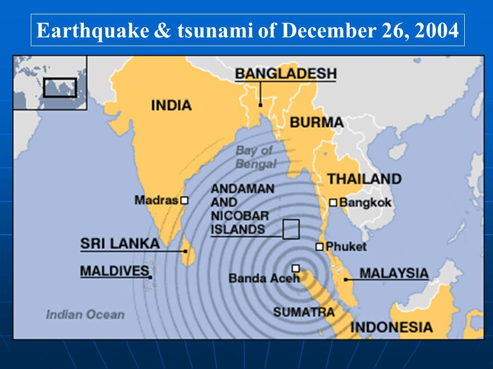 Earthquake & tsunami of December 26, 2004