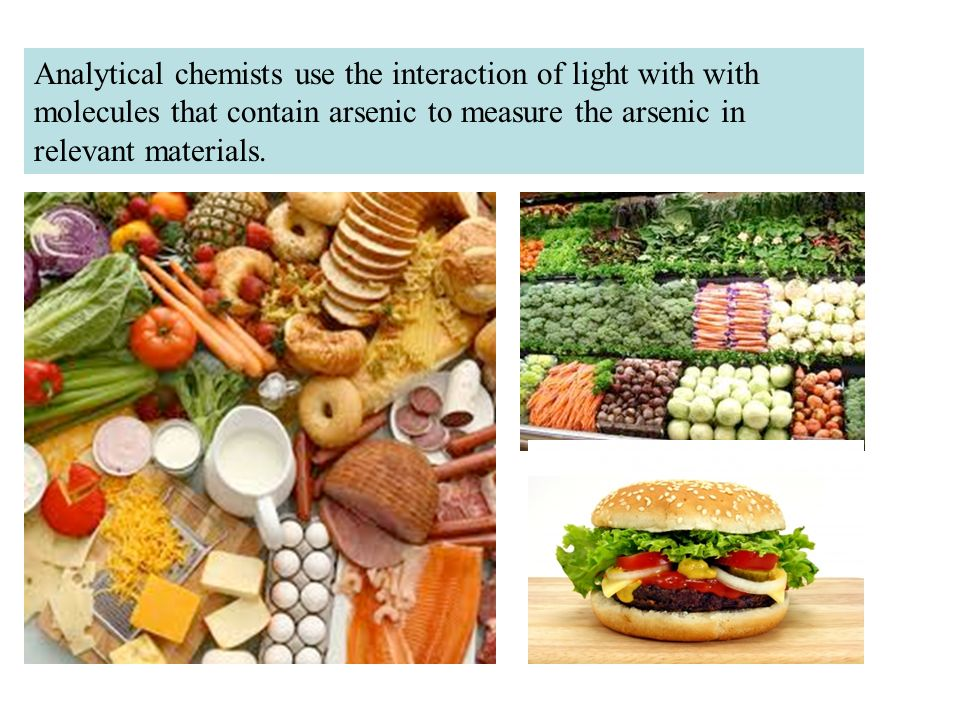So how does arsenic get into relevant materials.Arsenic occurs in nature.