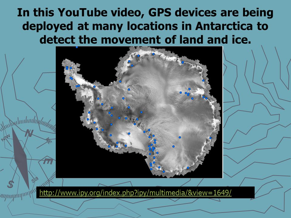 Handheld GPS devices use microwaves to communicate with the network of satellites.