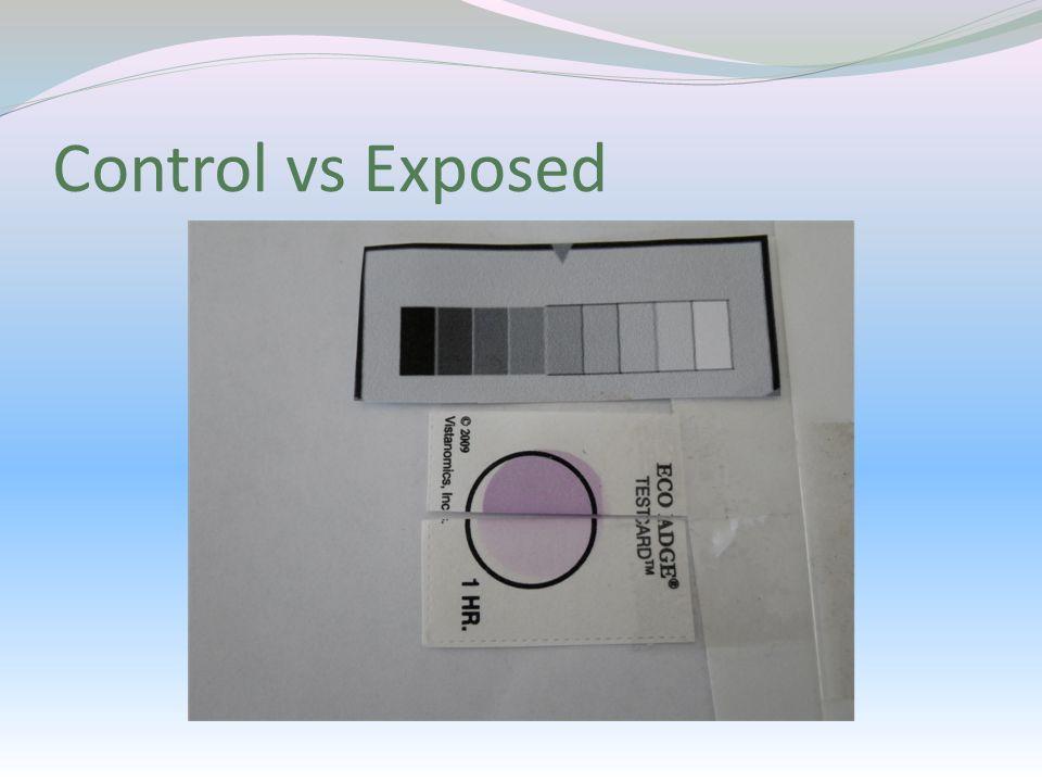 Control vs Exposed