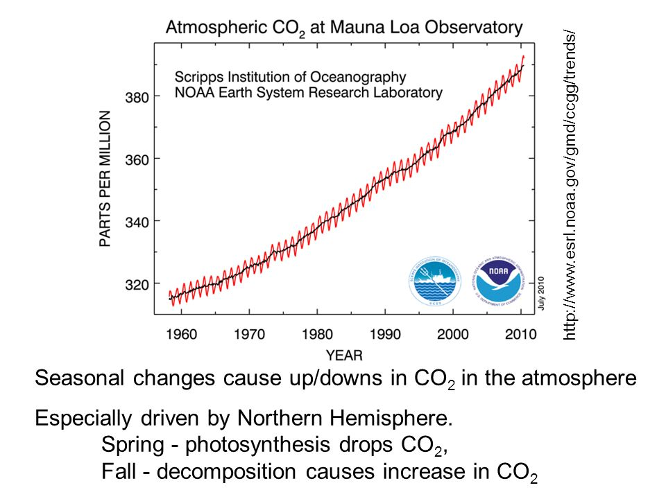 Monitoring of CO 2 and other Greenhouse gases around the world All get similar measurements Why?