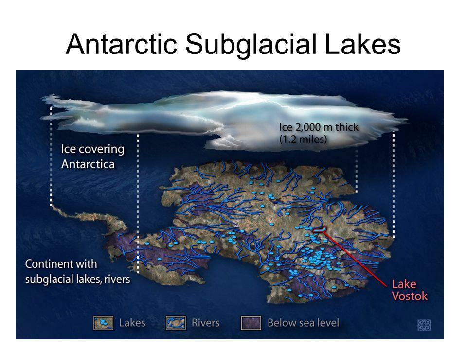Antarctic Subglacial Lakes