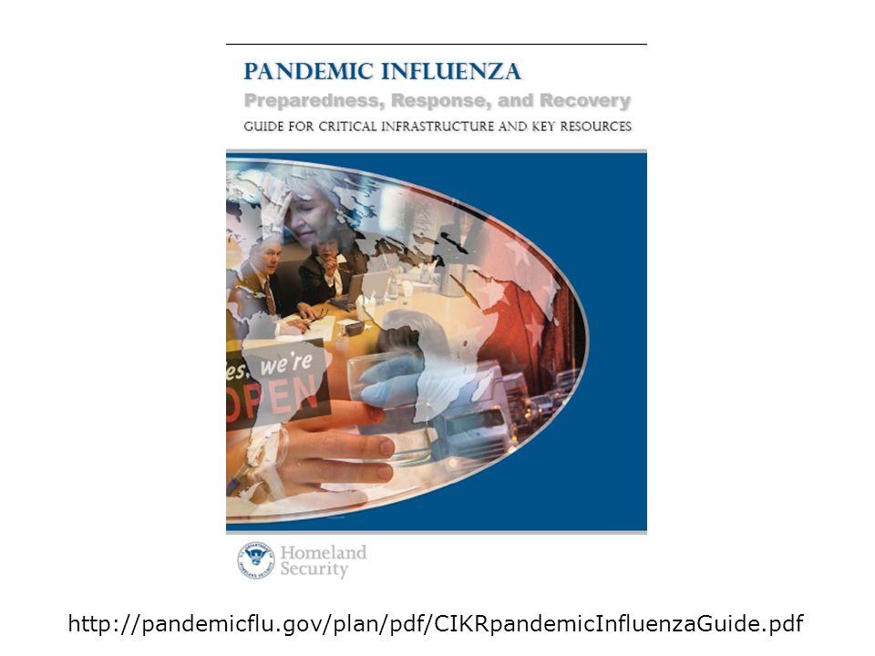 http://pandemicflu.gov/plan/pdf/CIKRpandemicInfluenzaGuide.pdf