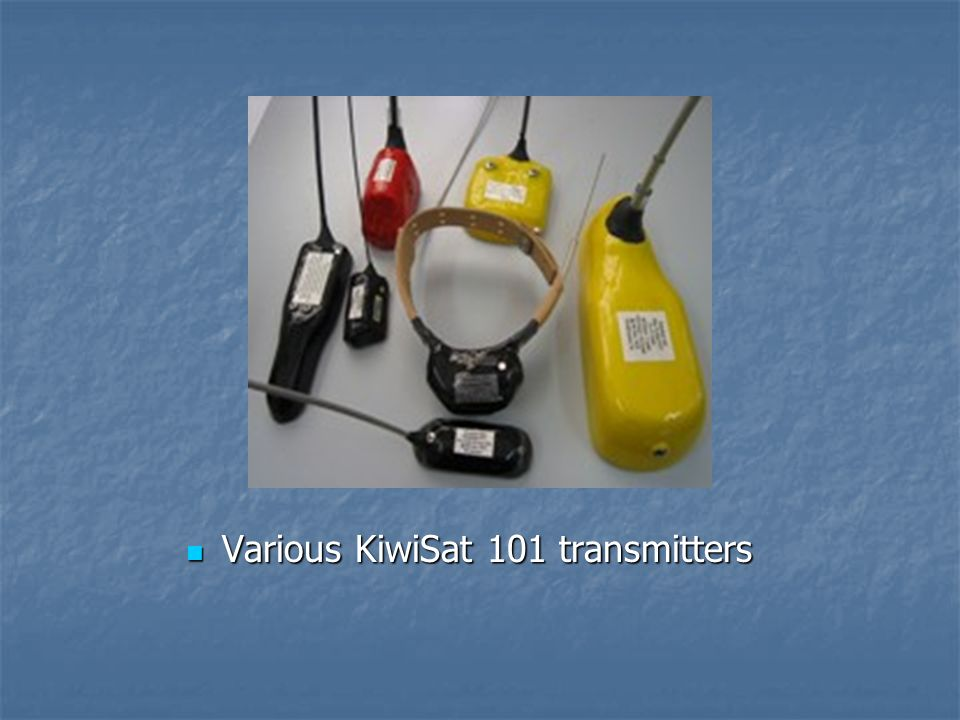 Various KiwiSat 101 transmitters Various KiwiSat 101 transmitters