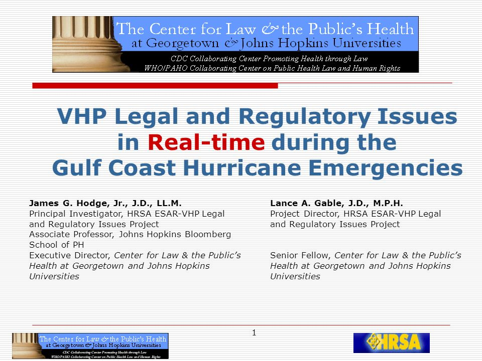 12 Legal Authority to Deploy VHPs 194 2958 92 4856 627431 8269 69 8543 759 The VHP SU DO KU