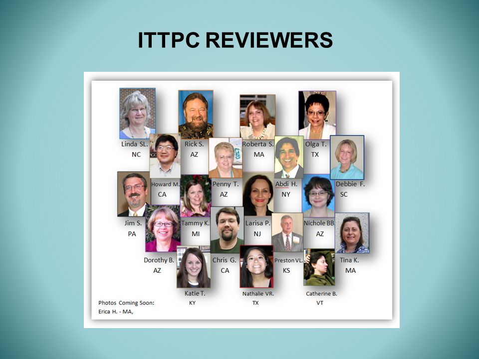ITTPC REVIEWERS