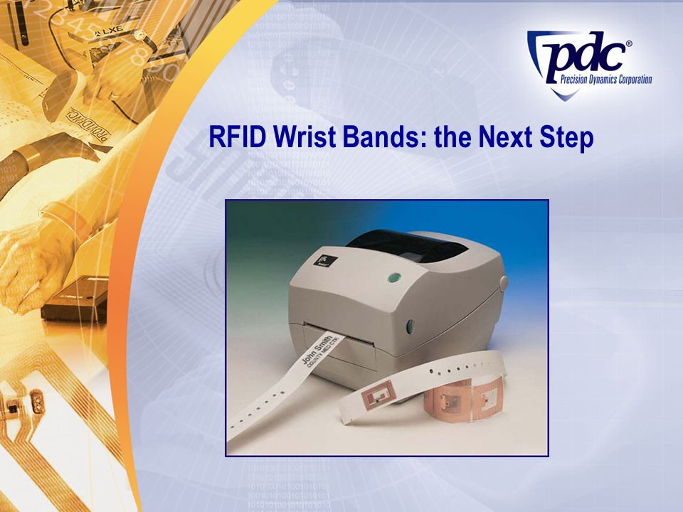RFID Wrist Bands: the Next Step