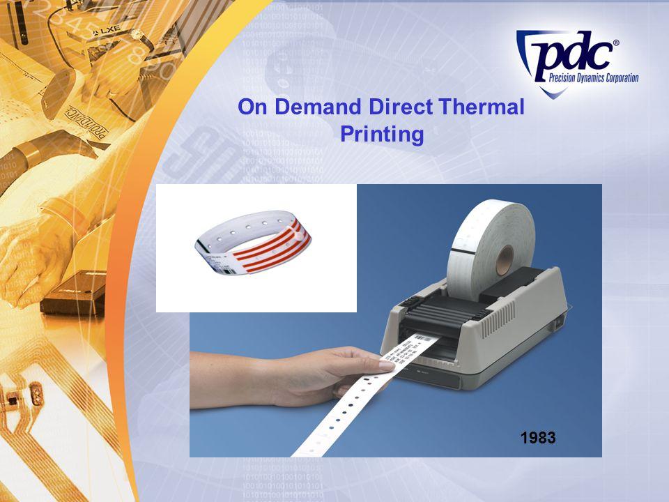 On Demand Direct Thermal Printing 1983