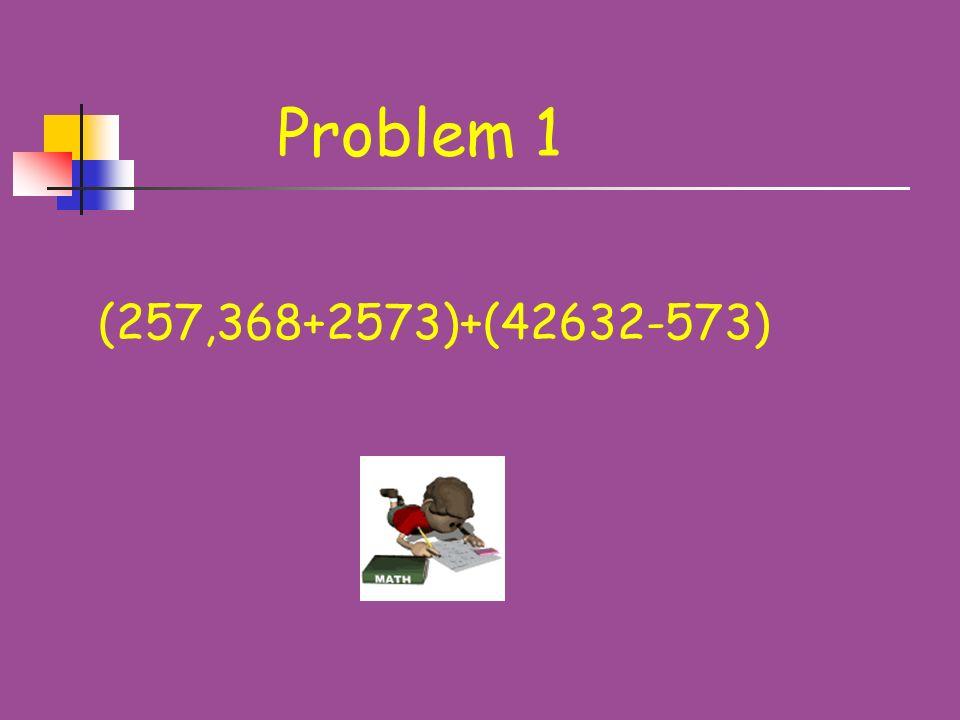 Problem 6 Calculate: (244 * 395 – 151)/(244 + 395 * 243)