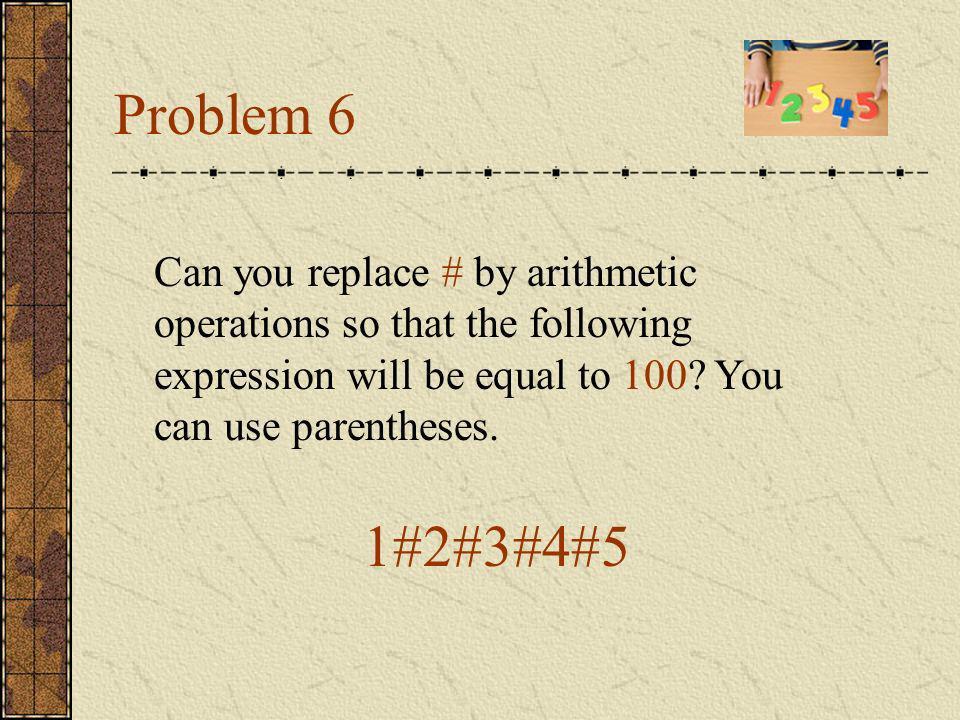 Answers 100=1+2+3+4+5+6+7+8*9 100=1*23+4+5+67-8+9