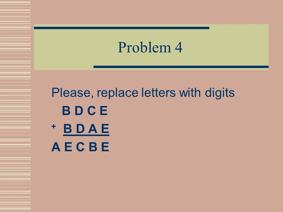 Answer We must find digits, so that the sum looks like aa + bcb = deed. Obviously d=1 and b=9 => aa + 9c9 = 1ee1, that means that a=2, 22 + 9c9 = 1ee1