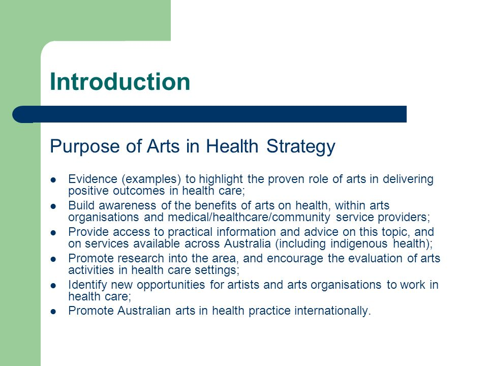 Suggestions for improvement Education/ information dissemination (through papers, forums and the media broadly) Health partnerships There is a stated interest within health practitioner community to see such partnerships formed Training/support Research/ evaluation