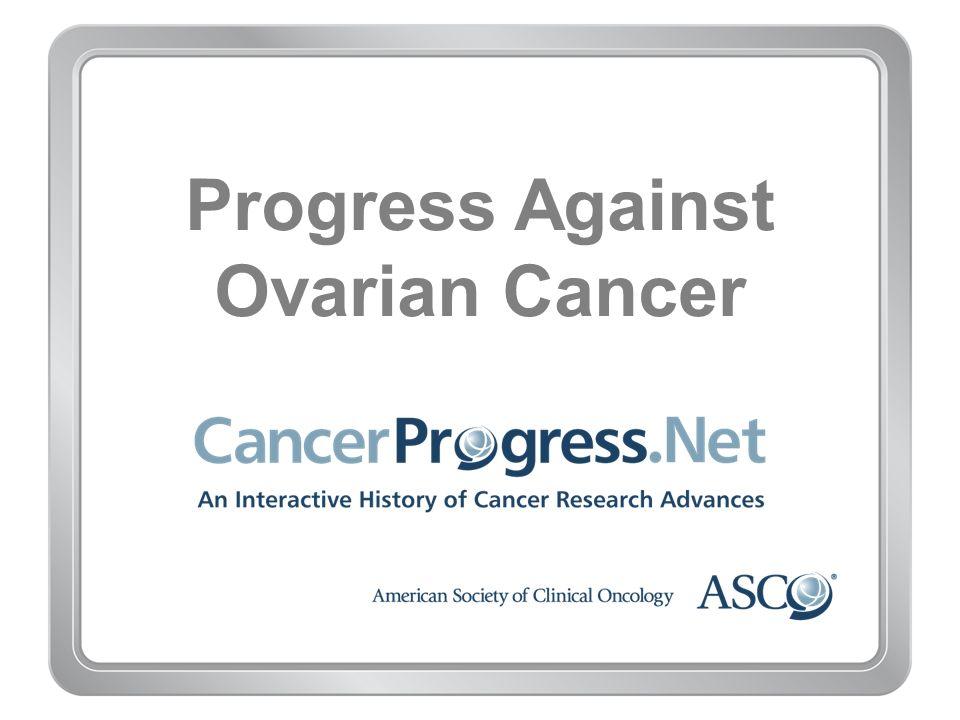 Progress Against Ovarian Cancer