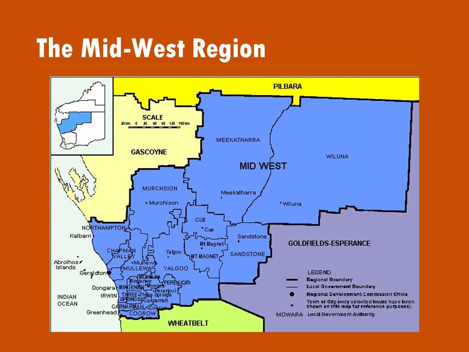 The Mid-West Region