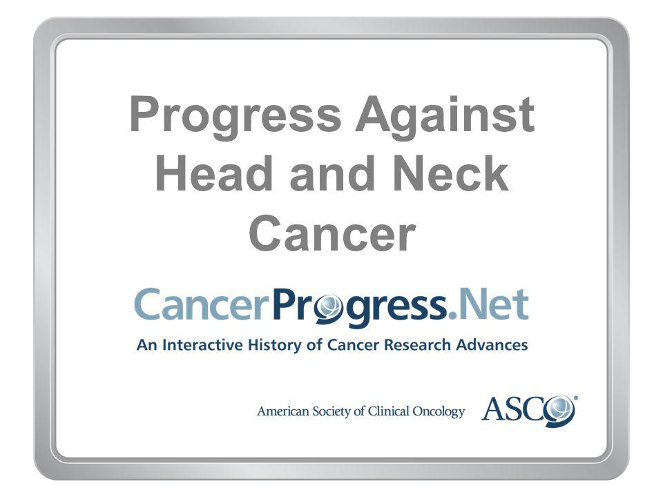 Progress Against Head and Neck Cancer
