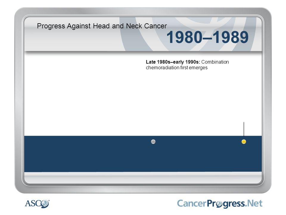 Progress Against Head and Neck Cancer 1990–1999