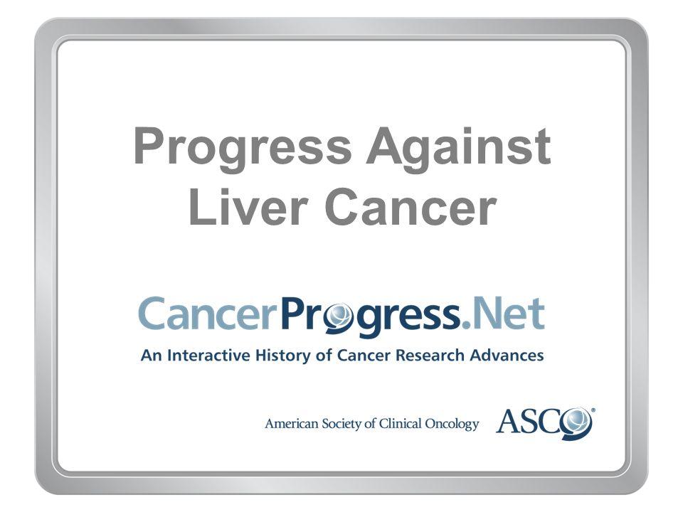 Progress Against Liver Cancer
