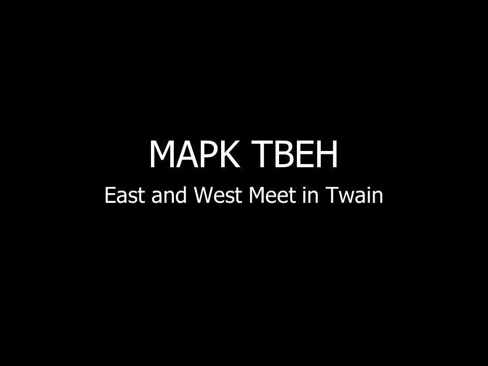 MAPK TBEH East and West Meet in Twain