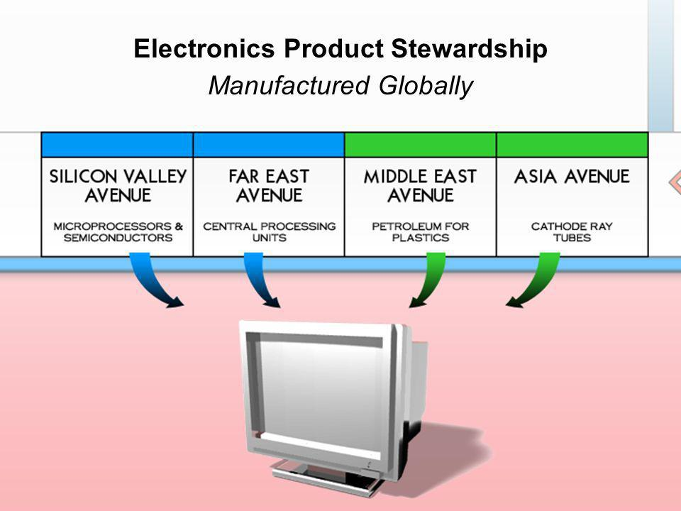 Electronics Product Stewardship Manufactured Globally