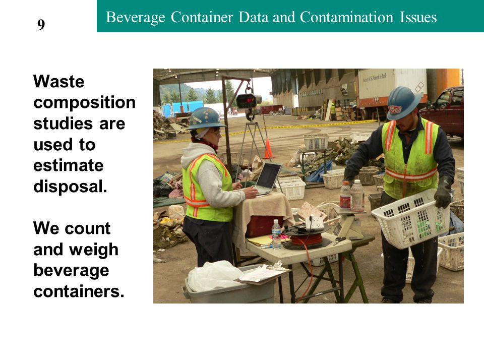 Metro Contamination Studies 2004-05 Commingled Container Loss in Newspaper (Metro 2004-05 study) 20