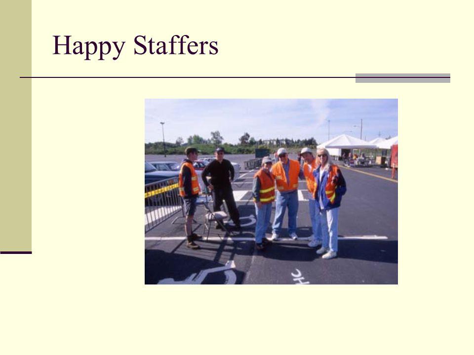 Happy Staffers