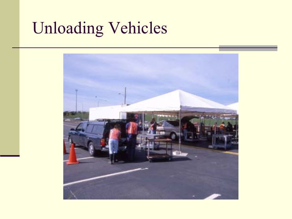 Unloading Vehicles