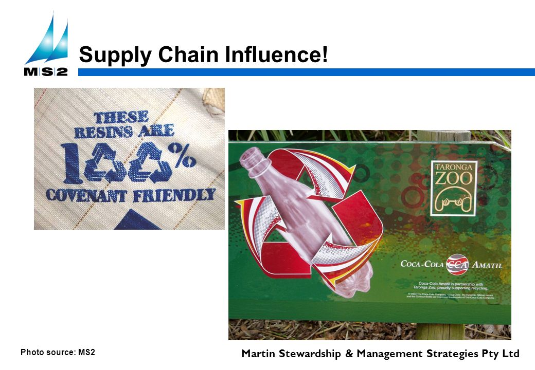 Martin Stewardship & Management Strategies Pty Ltd Supply Chain Influence! Photo source: MS2