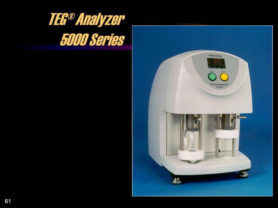 61 TEG® Analyzer 5000 Series