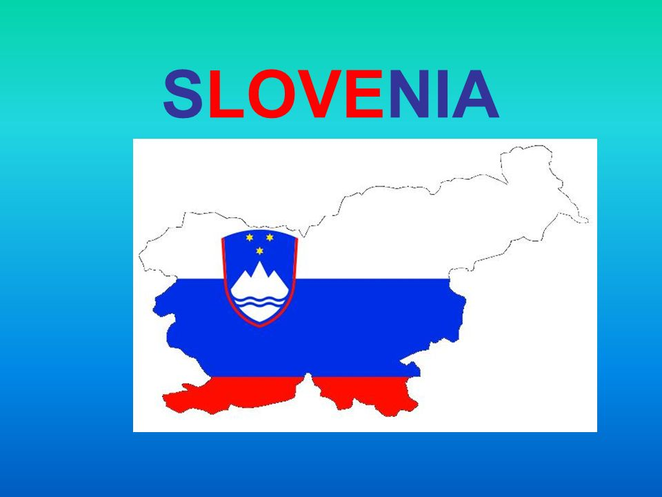 Republic of Slovenia is a country in Central and Southeastern Europe touching the Alps and bordering the Mediterranean.