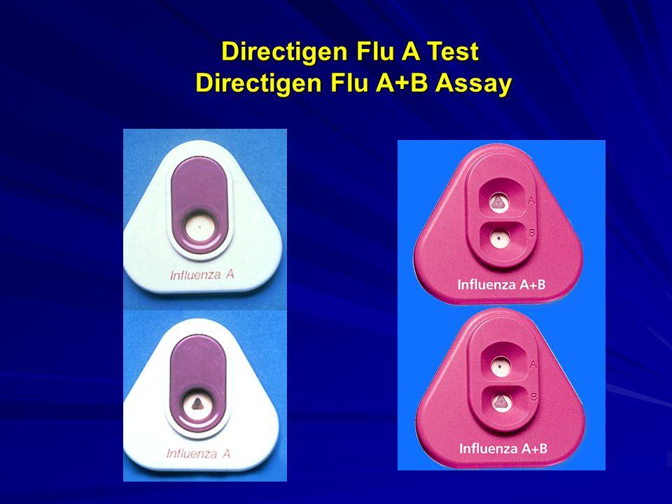 Directigen Flu A Test Directigen Flu A+B Assay