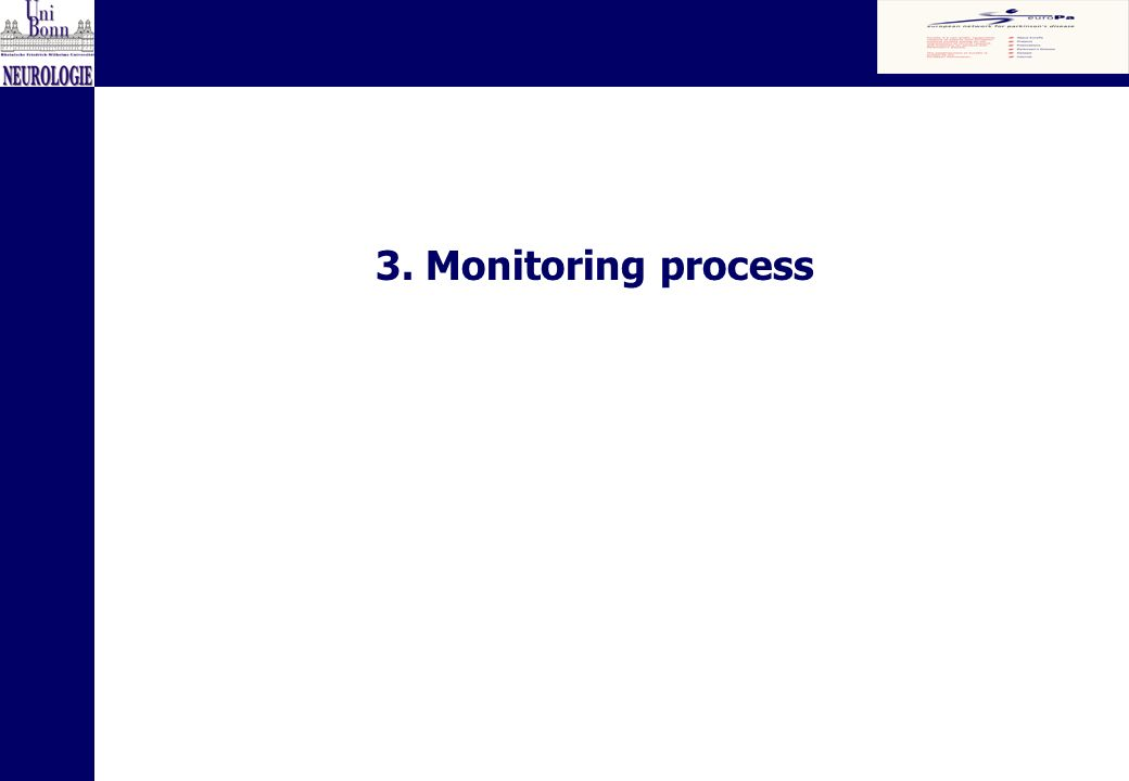3. Monitoring process