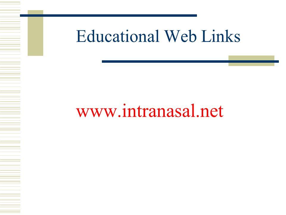 Educational Web Links www.intranasal.net