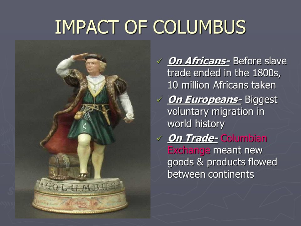 SPANISH NORTH AMERICA – SECTION 2 Columbus crosses the Atlantic in October of 1492 and lands in San Salvador (Holy Savior) Columbus crosses the Atlant