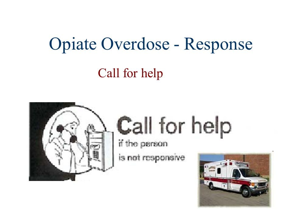 Opiate Overdose - Response Call for help