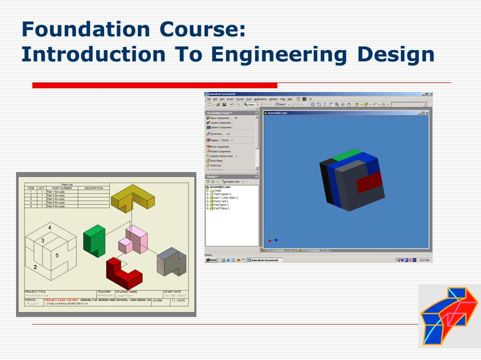 Foundation Course: Introduction To Engineering Design