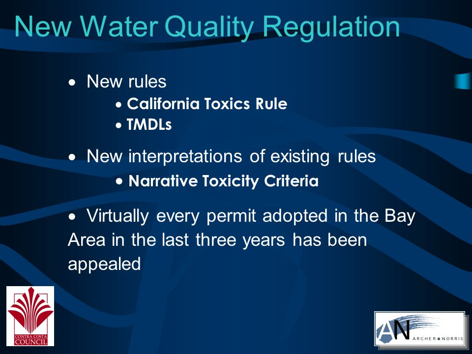New Air Quality Regulation Title V Ozone and NOx Attainment Plans Refinery Flaring Rule