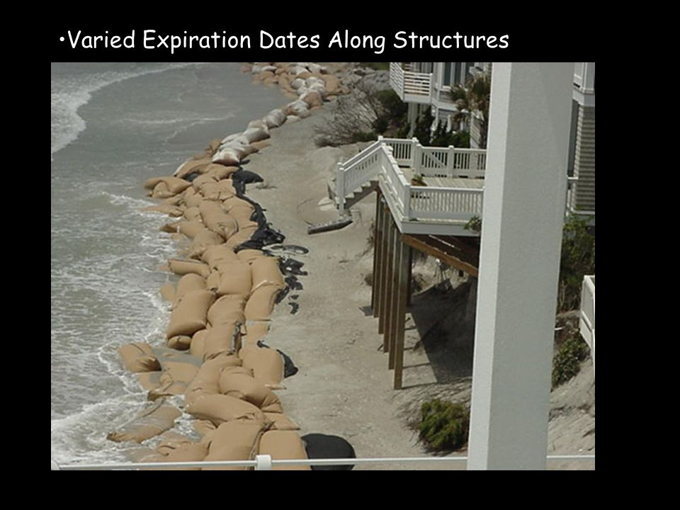 Varied Expiration Dates Along Structures