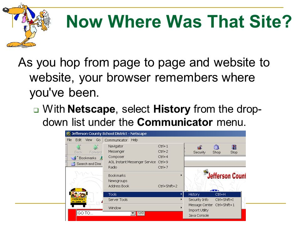 Opening More Than One Browser You are not limited to using only one Internet browser at a time. You can open several copies of Netscape and/or Interne