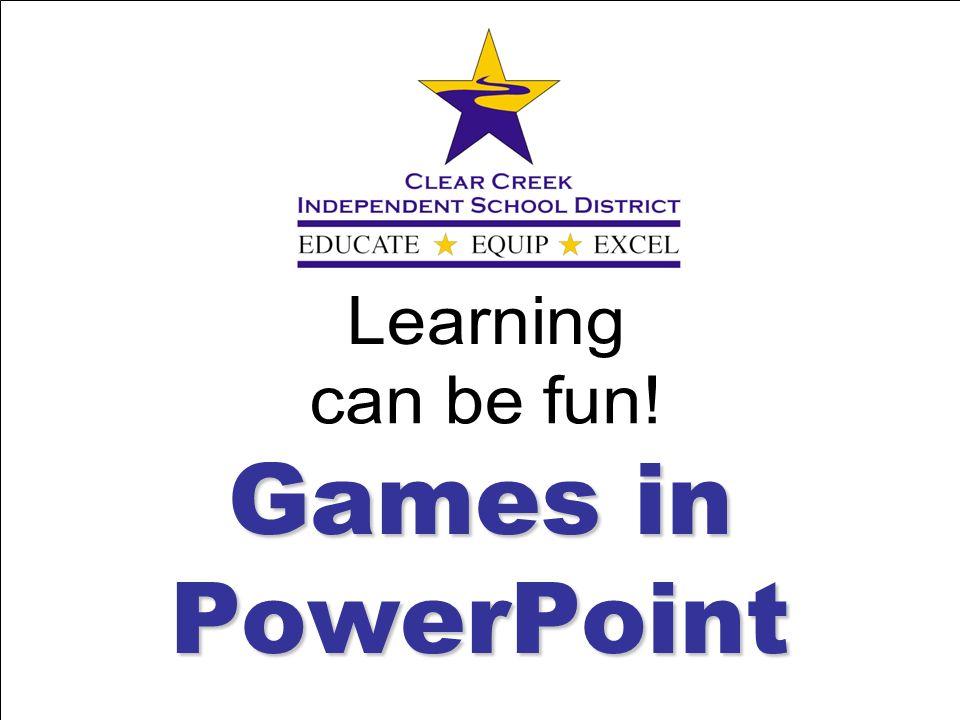 Games in PowerPoint