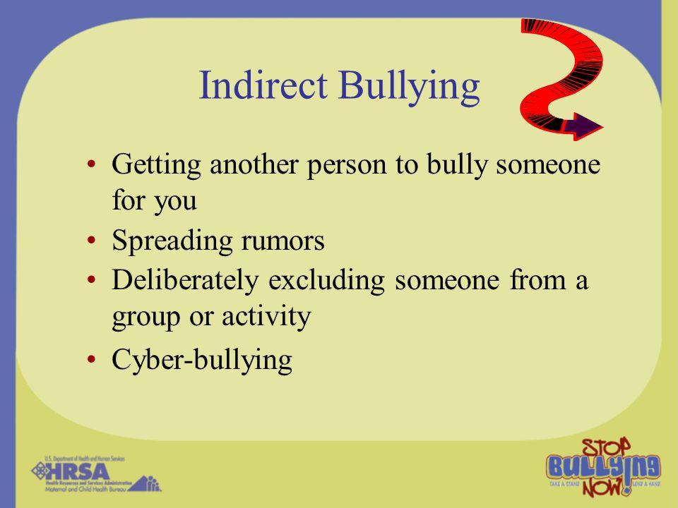 How common is bullying.Nansel et al.
